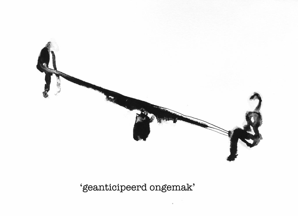 geanticipeerd ongemak